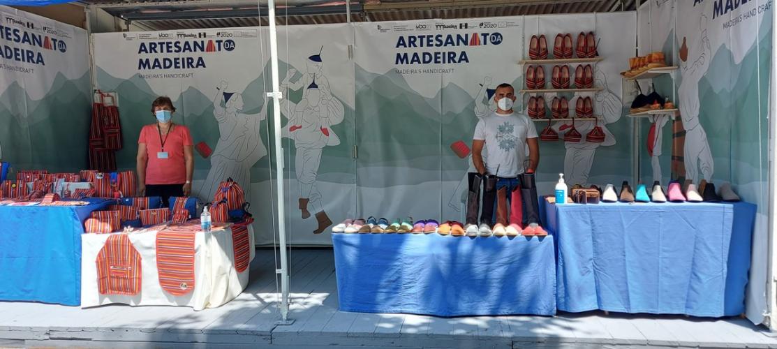 Madeirenses participam no maior evento de artesanato do país in DN 28/07/2021